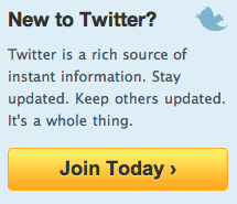 Screenshot of JOIN TODAY Twitter homepage