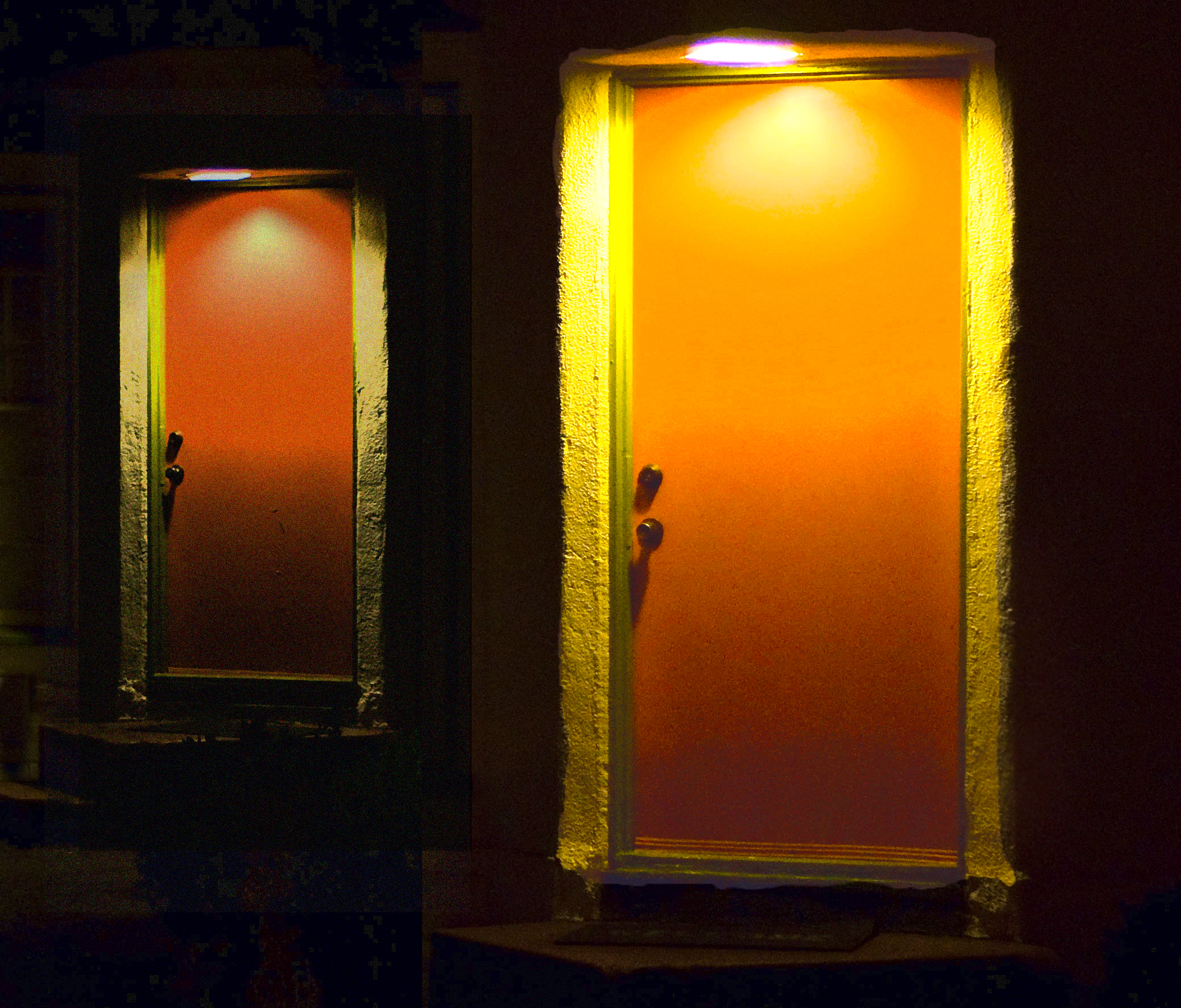 which door would you choose? Creepy or Rude?