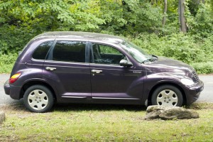 purple PT Cruiser