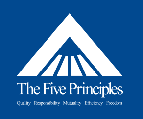 Mars, Inc. has its core values on its website. AND all over everything. I worked there over 10 years ago and I still remember them. Click on the image to get more info on the 5 Principles.