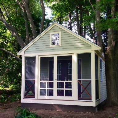 Biz Author Ann Handley's Writing Shed